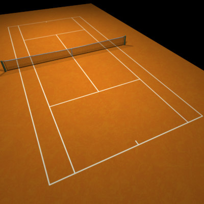 maya tennis clay court