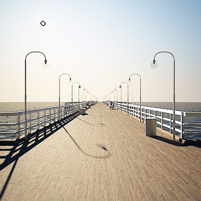 pier 3d max