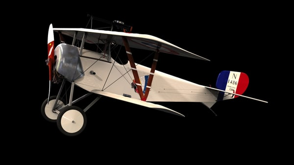 french fighter aircraft 3d model