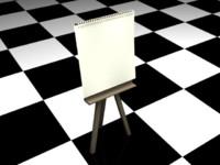 free board v-ray 3d model