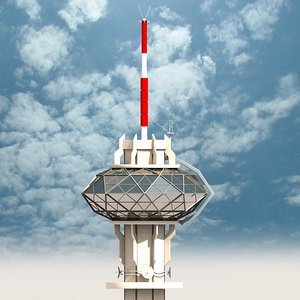 3d television tower 8