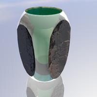 3d model vase vase1