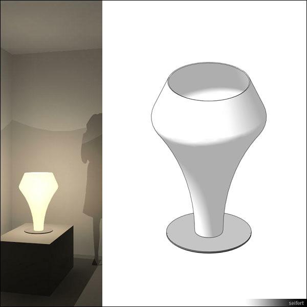 free rfa model table lamp