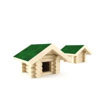 3d model of dog house