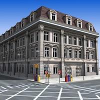 3ds city street