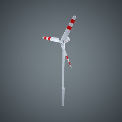 3d blade wind turbine