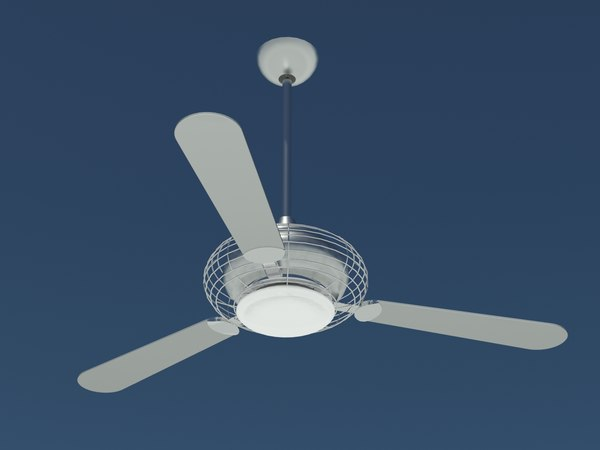 3d model minka aire ceiling fan