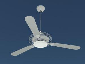 3d model minka aire ceiling fan
