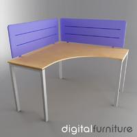 3ds office desk