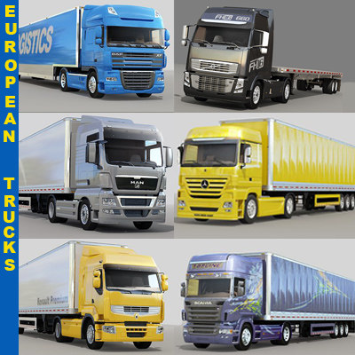 3ds european trucks