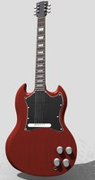 free max mode gibson sg guitar