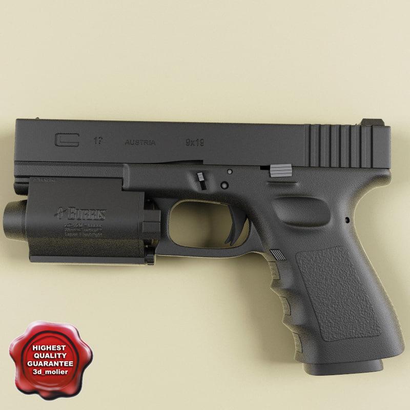 Glock Ges 3D Models for Download | TurboSquid