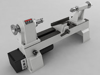 variable speed mini lathe 3d max