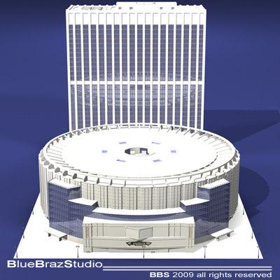 3d madison square garden arenas