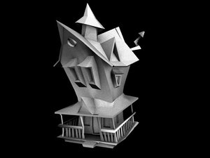 3d house lo model