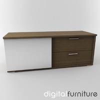 3d dxf sideboard digital