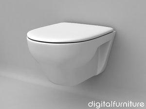 3d model of toilet