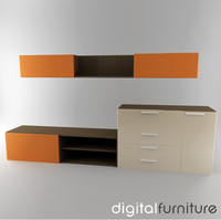 TV Furniture Wall System 15