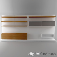 TV Furniture Wall System 19