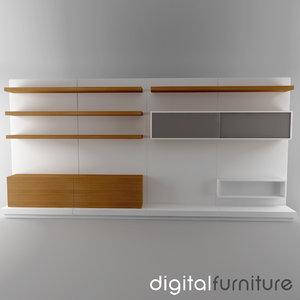 wall digital 3ds