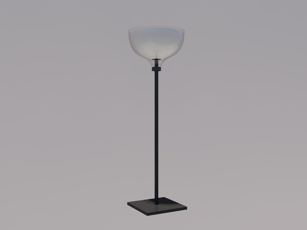 3ds floor lamp