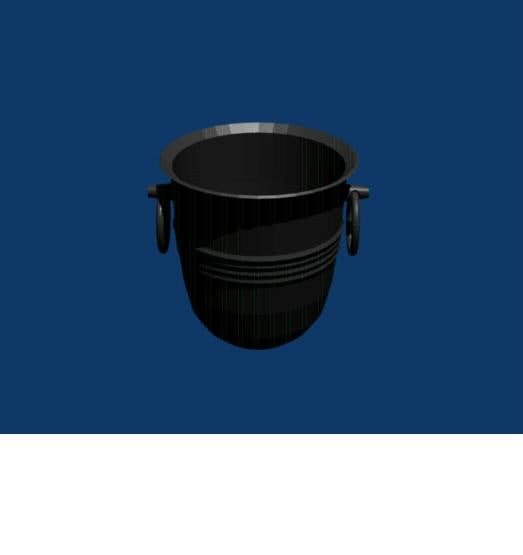 free obj mode champagne bucket