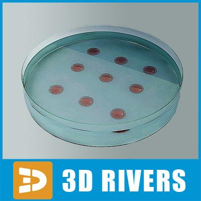 3d model medical glass sampler