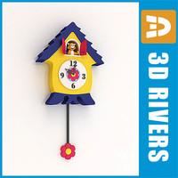 Kids cuckoo clock by 3DRivers