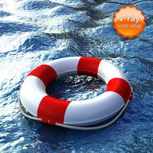 life buoy 3d 3ds
