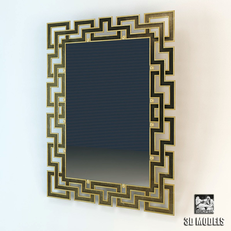 mirror harrison gil 3d model