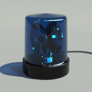 police light 3ds