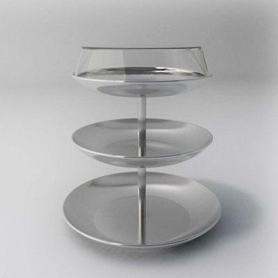 3d pot glass