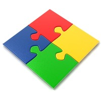 piece jigsaw puzzle 3d model