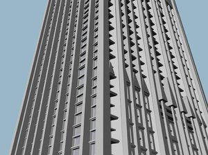 hy skyscraper 3d model