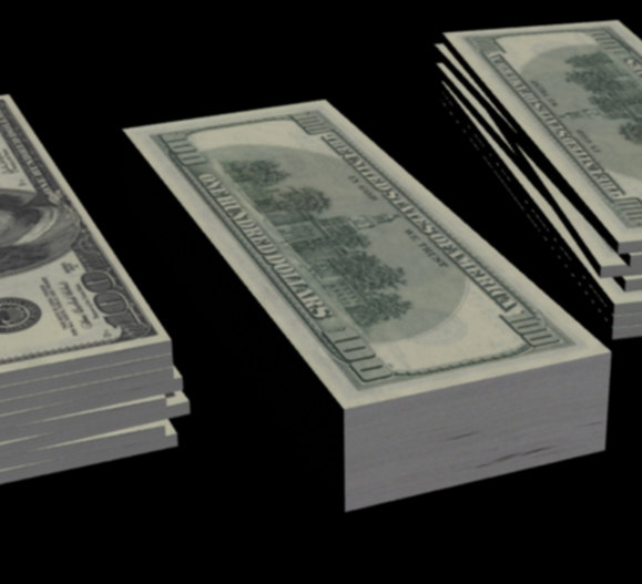 money 3d max