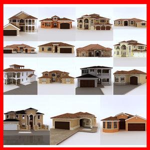 maya set 15 houses