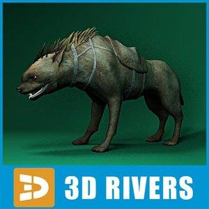 warg fantasy creatures 3d max
