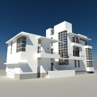 modern architects 3d model