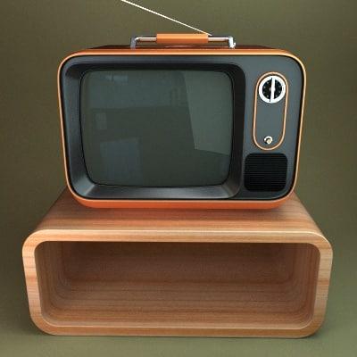 max retro tv stand