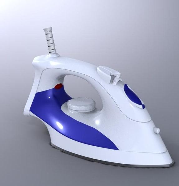 flat iron 3d model