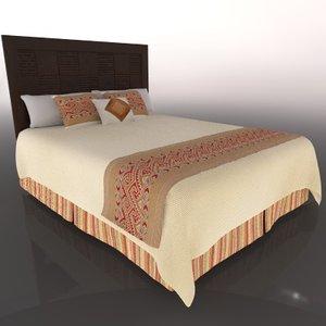 3d c4d bed