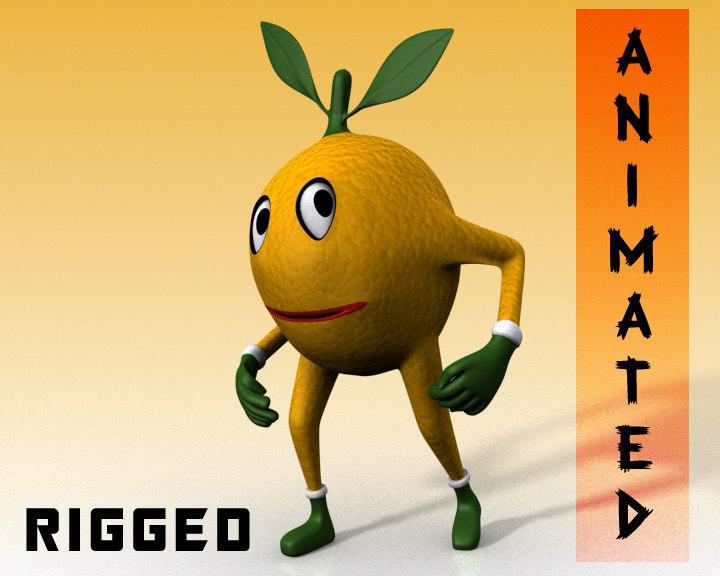rig animation character mango max