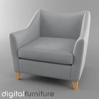 armchair digital 3ds