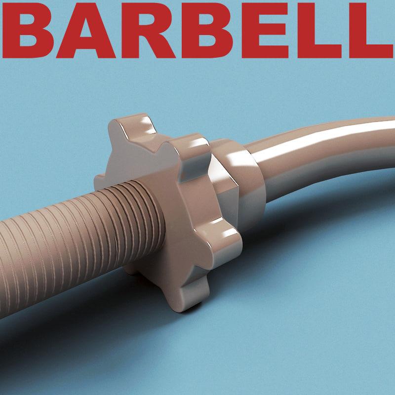 maya barbell v2