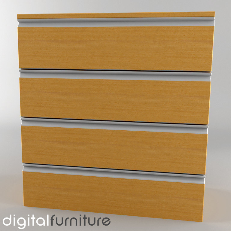 chest drawers 3d lwo