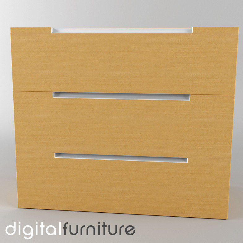 3d 3ds chest drawers