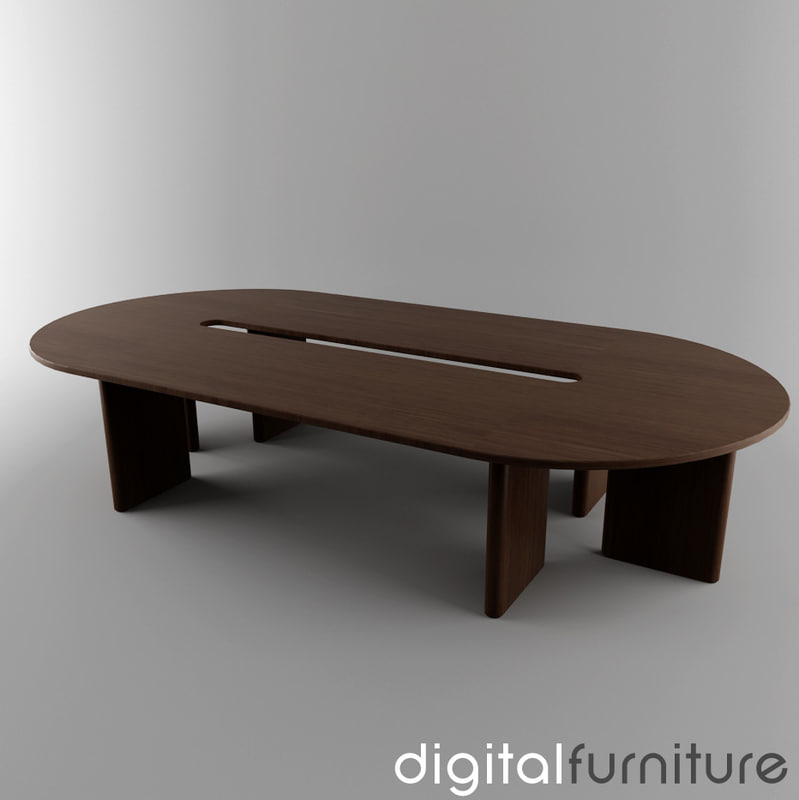 conference table dxf