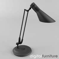 obj desk lamp