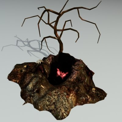 3d beast lair model