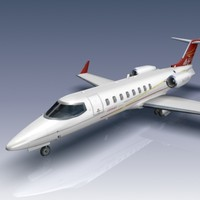 3d learjet 45xr 45